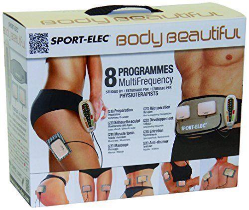 Sport-Elec Body Beautiful muni de 2 modules plus ceinture abdominale: Tweet Modele Body Beautiful. Coloris : noir. Appareil d amincissement…