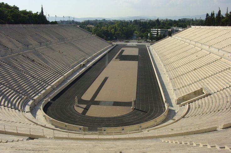 Panathinaiko (Kallimarmaro) Stadium #Athens