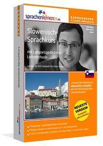 Slowenisch lernen Slowenisch-Expresskurs: Slowenisch-Vokabeltrainer für Ihren Urlaub in Slowenien mit Reiseführer