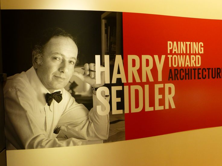 Harry Seidler - Painting Toward Architecture exhibition, Museum of Sydney November 2014 - March 2015.