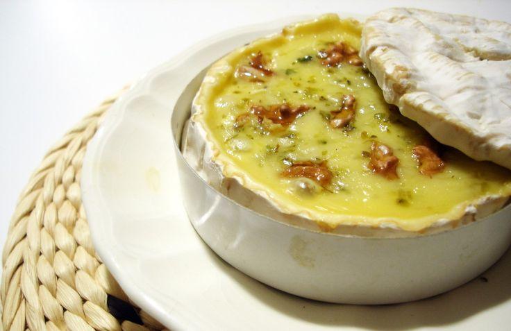 Queso Brie al horno con nueces 5
