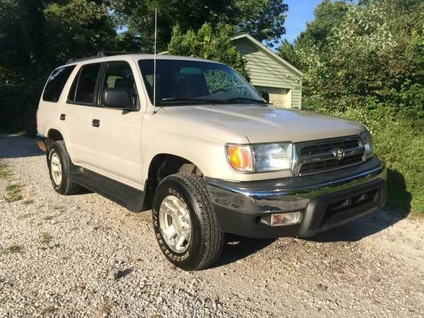 1999 Toyota 4Runner 4×4 (Bloomington) $3900: Great running Toyota 4Runner 4X4, Automatic, 4 Cylinder 2.7 liter, All power, Cold A/C, Hot…