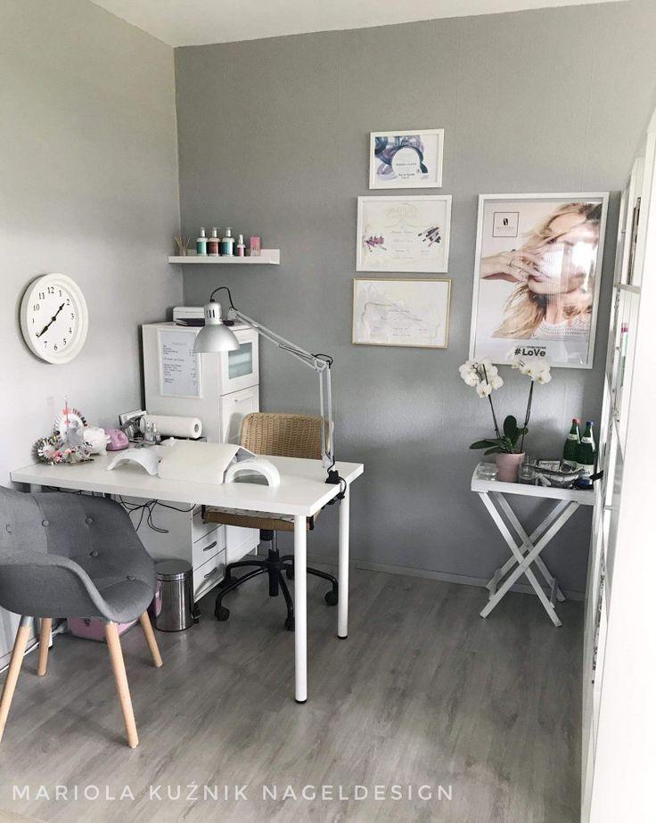 622 best Home Nail Salon Decor Ideas | Nail Salon Pedicure and Nail ...