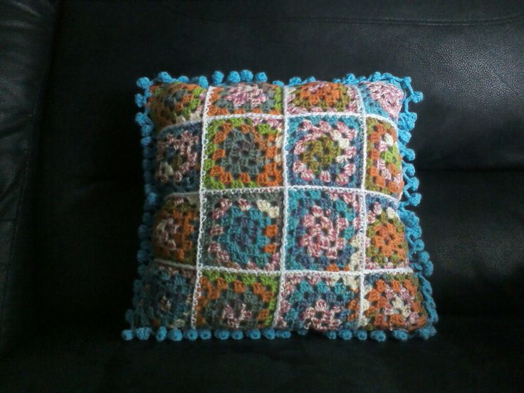 My first attempt at granny squares