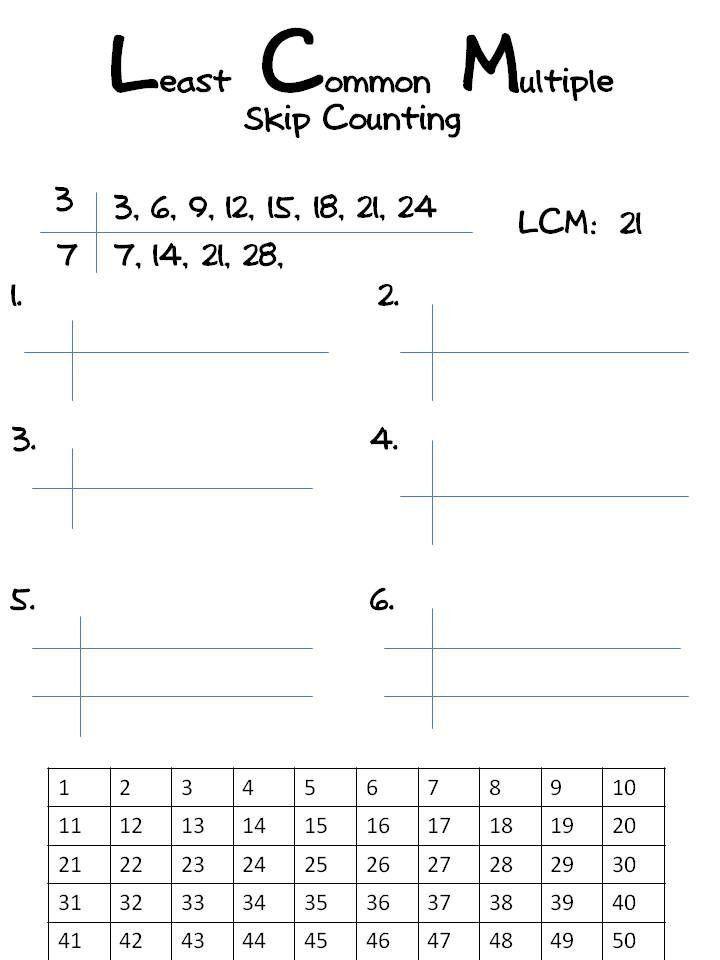 Factoring Greatest Common Factor Worksheet Greatest Mon Factor And Least Mon Multiple Worksheet In 2020 Least Common Multiple Common Multiples Word Problem Worksheets