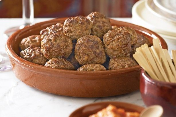 A traditional tapas favourite, meatballs (or albondigas) taste superb with a…