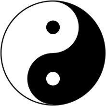 Taijitu: el taiji constituido por el yin y yang.