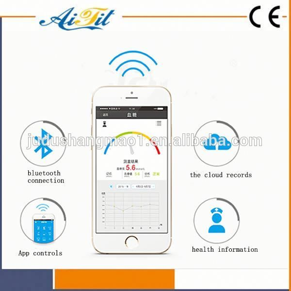 Blood Sugar Test Machine Accu Chek Active Meter Bluetooth Glucometer for Testing the Normal Range of Blood Glucose
