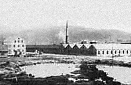 Den første store utbygging av fabrikken i 1910 #fabrikk #sandnesgarn