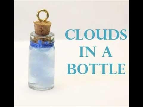 ▶ ♥ BottleCharm Tutorial: Blue sky Clouds♥ - YouTube