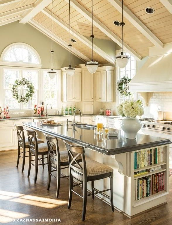 Pin By Joy Christine Stevens On For The Home Barn Kitchen