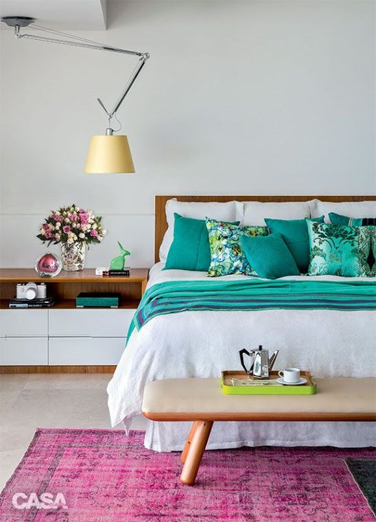 +1000 ideias sobre Quartos Verdes Esmeralda no Pinterest  ~ Quarto Verde Solteiro