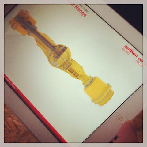 applicazione per #oerlikon con #pixelarea e #lookoffice