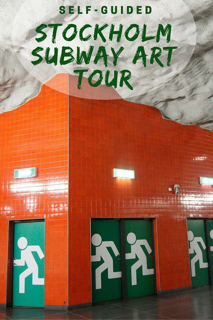 Stockholm's subways are full of interesting art. Take a self-guided Stockholm Subway Art Tour