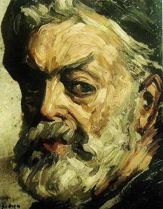 Art - Post-impressionism - Adrien Godien - Self portrait ...