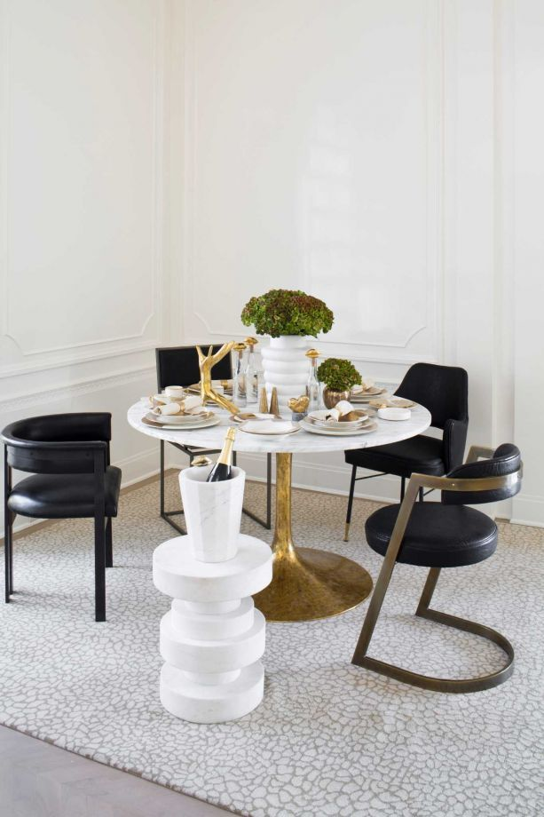 Designer Dining Room Furniture: Brutalist Décor Hefts Some Weight This Fall