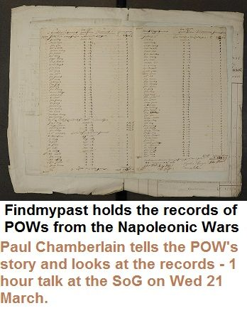 Paul Chamberlain describes the lives of some of the prisoners who settled in Britain after the Napoleonic Wars. He shows how to find the records on the Find My Past website.