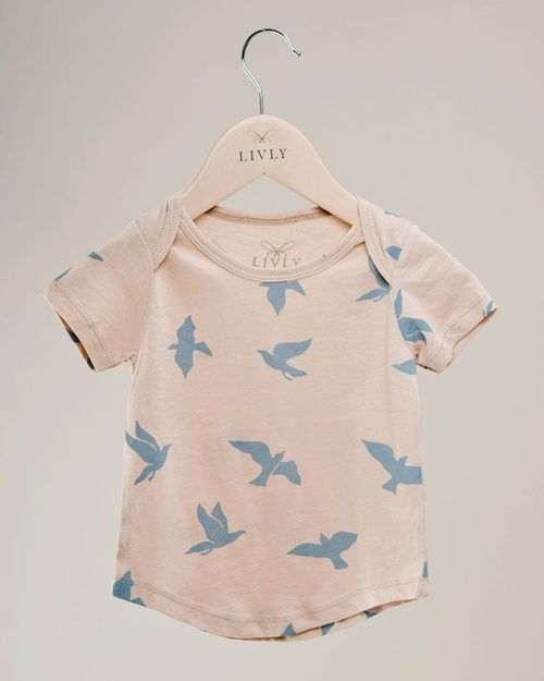 Rose Quartz . & . Serenity . Pantone colour / colours of the year . 2016 . { Birdy top by Livly } .