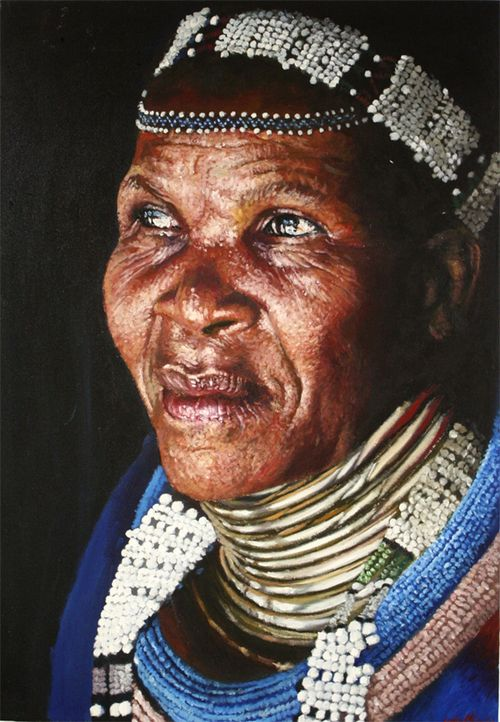 Realistic Portrait Paintings by South African...