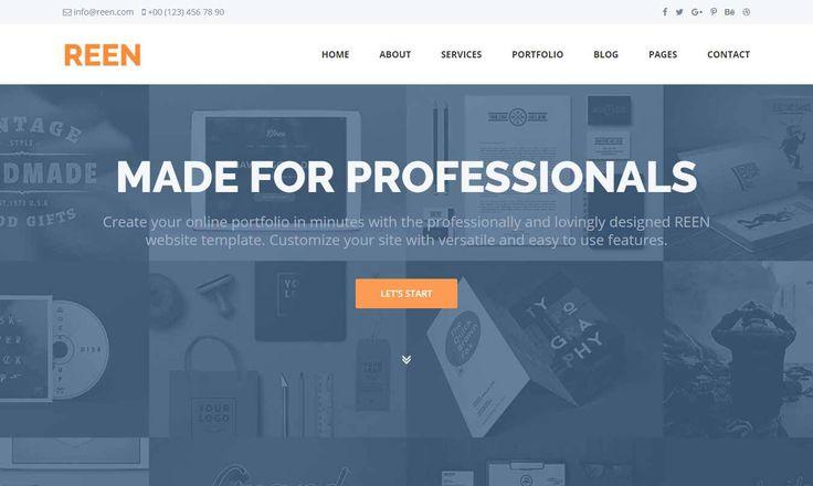 REEN – Free Business Website Template