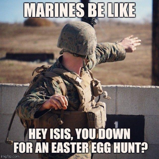 Happy Easter. #usmc #merica #marines