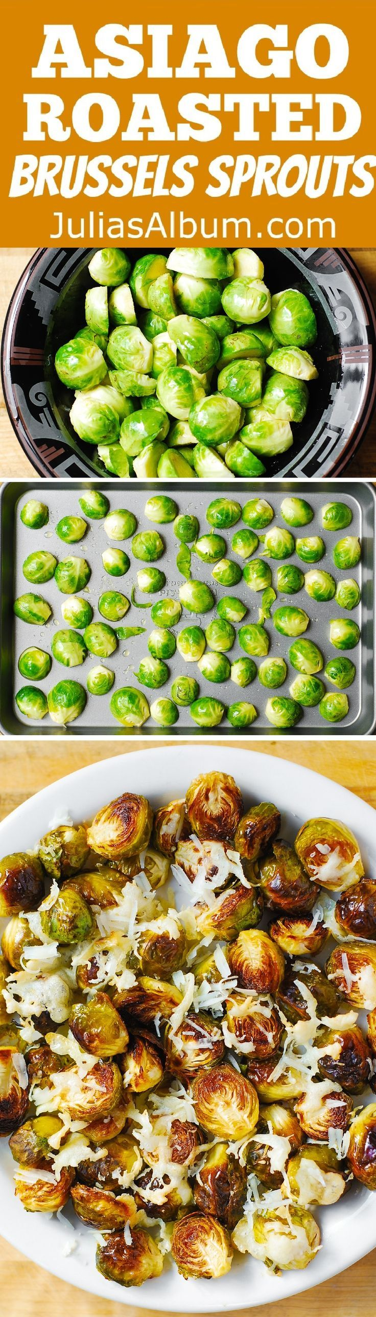 asiago roasted brussels sprouts perfect compl melted asiago sprouts ...