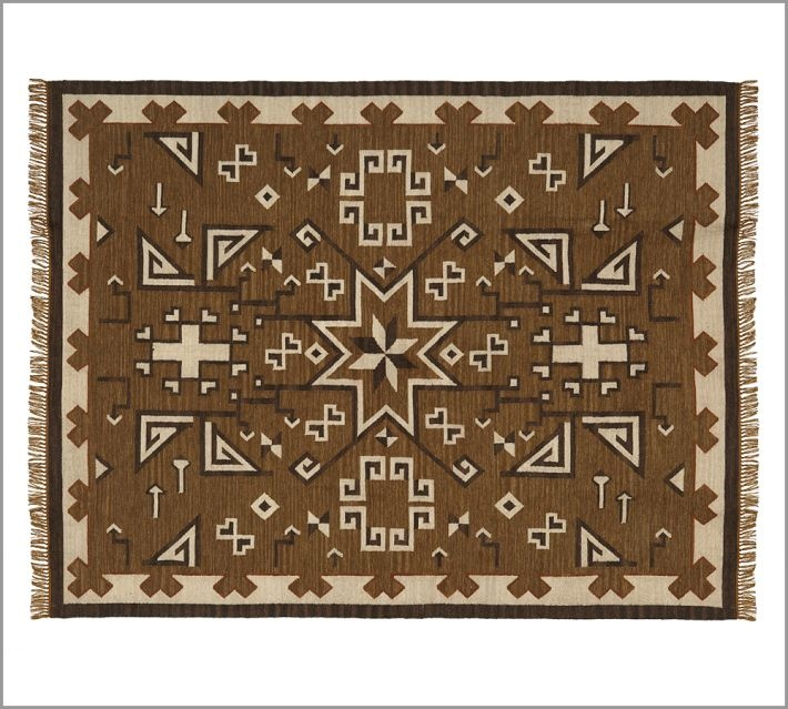 Andrew Kilim Indoor Outdoor Rug from Pottery Barn