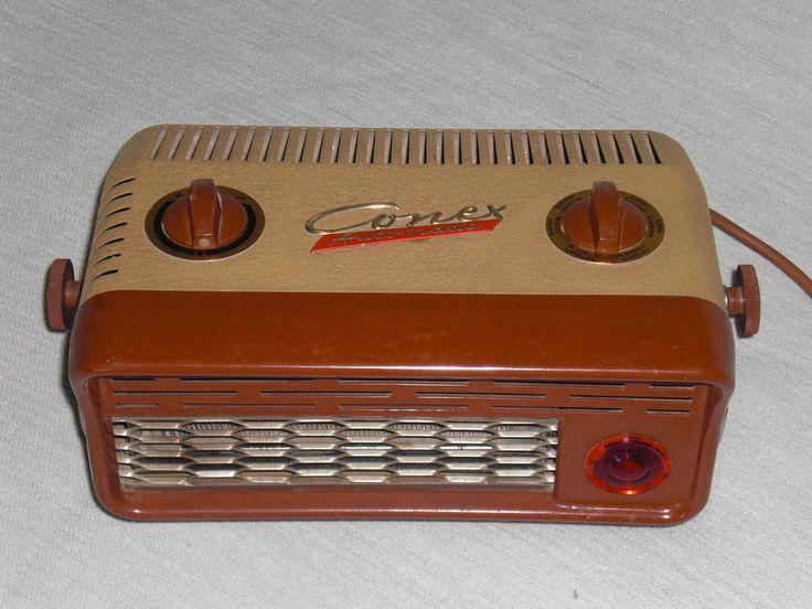 Ein alter Heizlüfter Warmlüfter Conex CA2000 electric Fan & Heater 60er