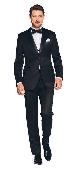 Premium Black Tuxedo