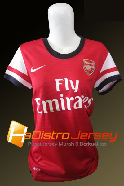 Toko Jersey Bola HADISTROJERSEY menyediakan READY STOK Jersey Grade Ori Jersey Ladies Arsenal Home 2012-2013 $15