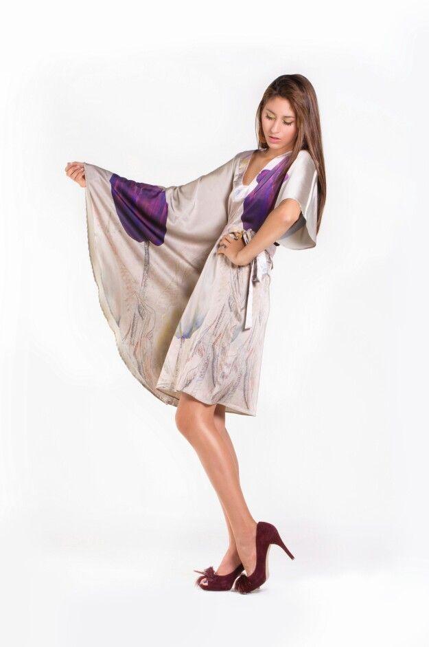 Asimetric dress #Glamour #fashion #Design #Girl #wishlist #Unique #Spring #Model #Vogue #Trend #Look #Ss2014 available @artbition #Kimono