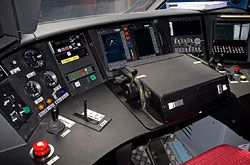 TGV-Est Fahrerarbeitsplatz