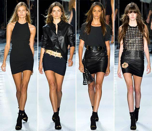 Versace - New York Fashion Week 2014