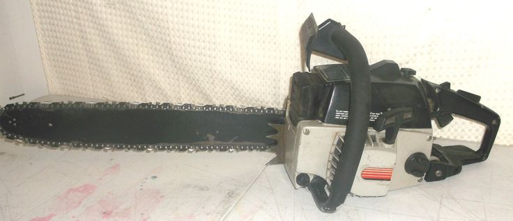 Craftsman 358 (Poulan 3400 Countervibe) 20 in. Bar Excellent Vintage Running Saw #CraftsmanPoulan