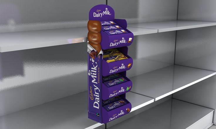 Cadbury S Parasite Unit My Point Of Sale Portfolio