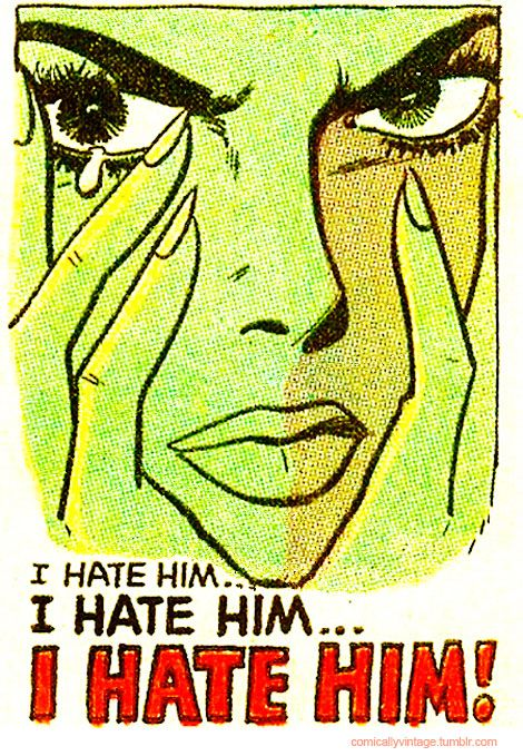 It's not all love and romance in love comics!
