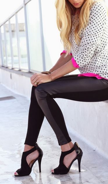 Tons of leather leggings styles on sale now at Macy's! Plus there's an online discount http://www.trendslove.com/deals/macys-com-coupons-promo-codes-and--discounts--/
