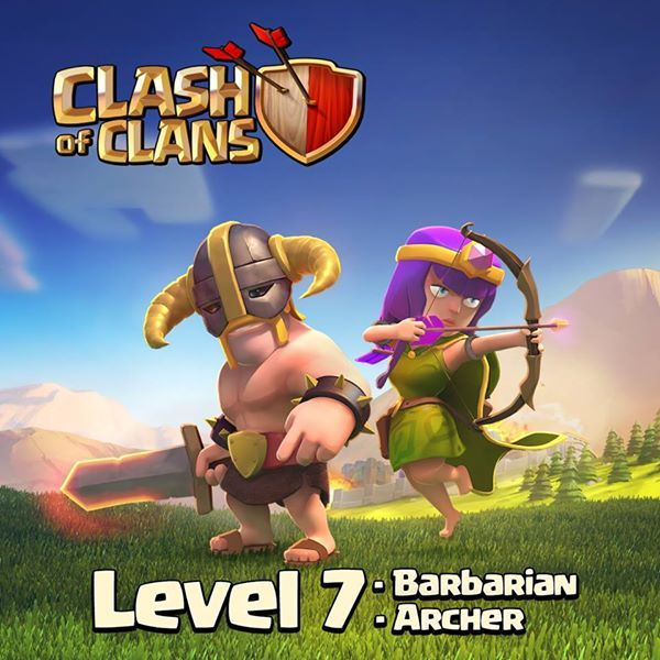 Barbarian Level 7 and Archer Level 7
