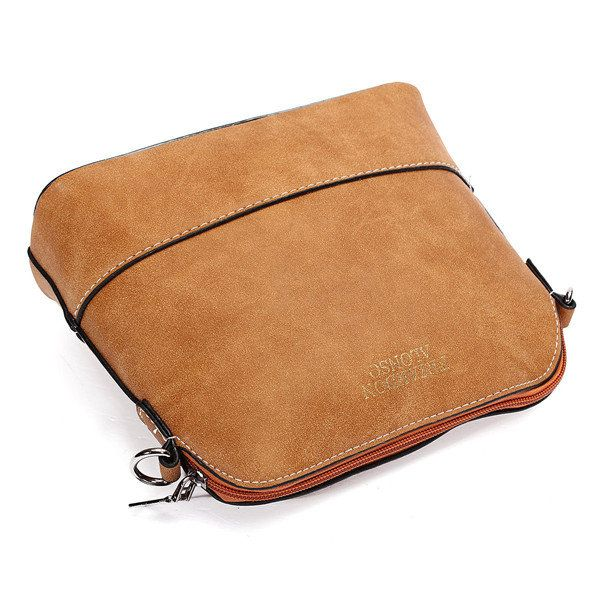 Women Nubuck Shell Bags Girls Vintage Shoulder Bags Crossbody Bags Messenger Bag - US$13.35