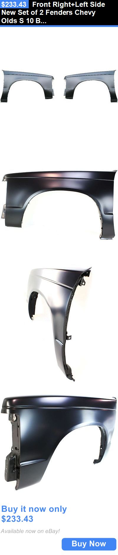 auto parts - general: Front Right+Left Side New Set Of 2 Fenders Chevy Olds S 10 Blazer Jimmy 15 Pair BUY IT NOW ONLY: $233.43