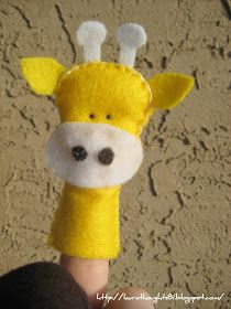 Laura Thoughts: Finger Puppets