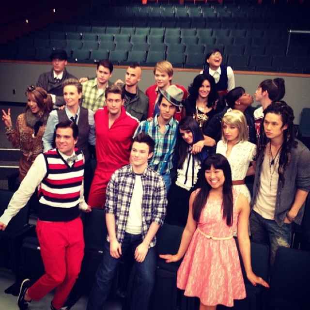glee season 3 episode 20 props. All the characters dressed up as each other