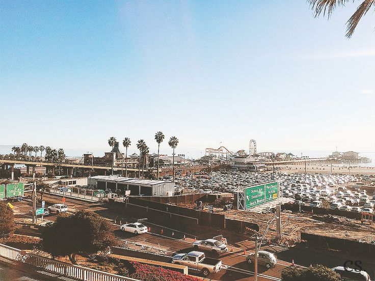 Santa Monica Beach — cs. | Captivating Soul by Camille P.
