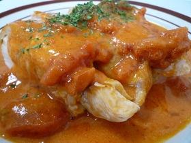 鶏肉のトマトクリーム煮
