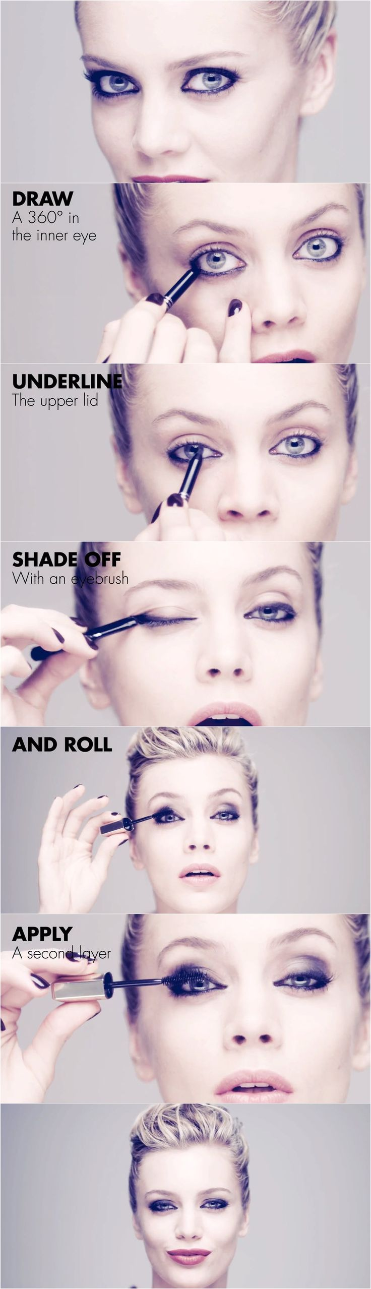How to do cat eyes tutorial