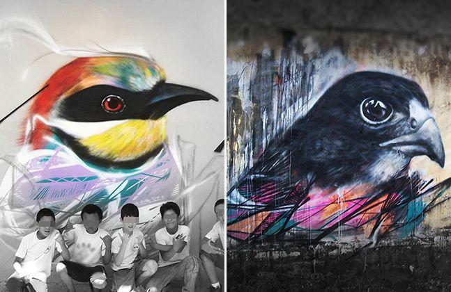 Conheça a arte fantástica do grafiteiro brasileiro L7M