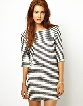 simple striped dress
