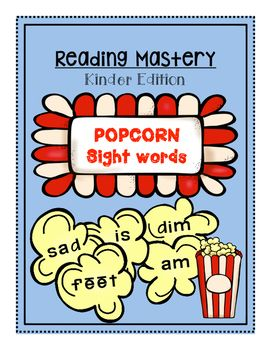 Sight Words, Popcorn Words, high-Frequency Words...Whatever you call them, this set of printables is just what you need! Your student will learn their sight words in no time as they read, color it, trace it, find it, write a sentence and build it. Use these printables while working with the whole class, in small group or even as homework.PLEASE NOTE:Reading Mastery is developed by SRA and published by McGraw-Hill and part of the SRA program.