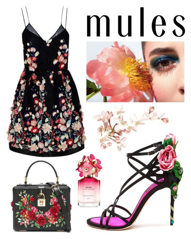 """Senza titolo #477"" by kirsten-weigh on Polyvore featuring moda, The 2nd Skin Co., Dolce&Gabbana e Marc Jacobs"