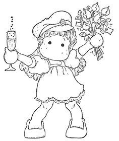 Digi stamps on Pinterest | Precious Moments, Digital Stamps and ...